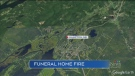 N.B. funeral home damaged by fire