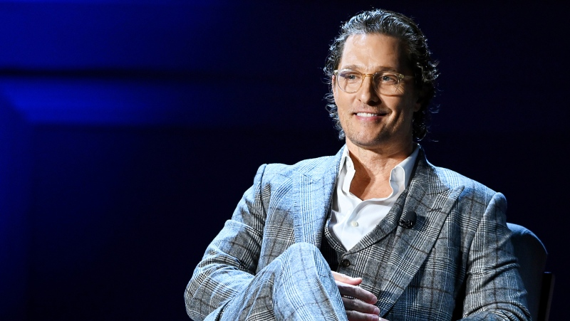 Matthew McConaughey, here in 2020, says he's considering running for office. (Noam Galai/Getty Images via CNN)