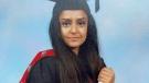 Metropolitan Police handout photo of Sabina Nessa. (Metropolitan Police via AP)