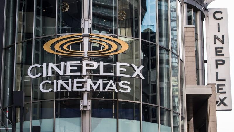 Cineplex Odeon Theatre at Yonge and Eglinton in Toronto on Dec. 16, 2019. (Aaron Vincent Elkaim / THE CANADIAN PRESS)