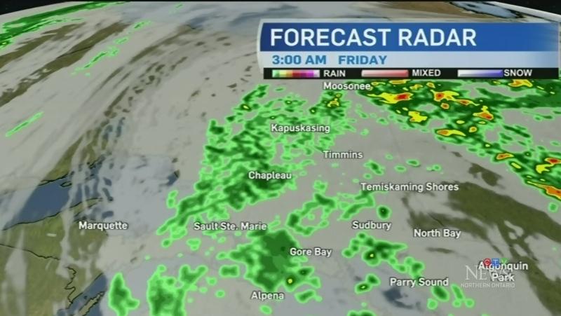 Cool temperatures and rain linger