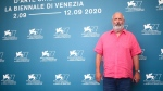 Director Roger Michell at the photo call for the film 'The Duke' during the 77th edition of the Venice Film Festival, on Sept. 4, 2020. (Joel C Ryan / Invision / AP)