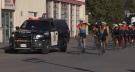 Cops for Cancer Tour de North arrives in Terrace Sep 22, 2021 -- CREDIT: Frank Landry CFTK-TV