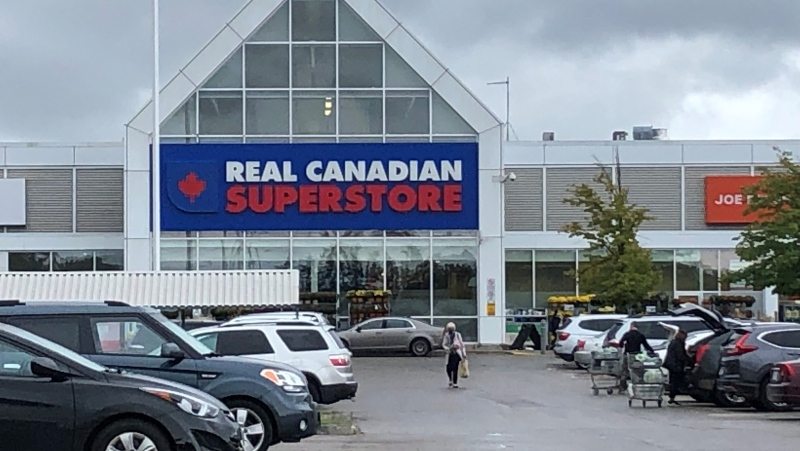 Real Canadian Superstore at Oxford and Gammage - Thursday September 23, 2021 (Jim Knight / CTV News)