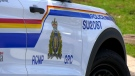 A Surrey RCMP vehicle is pictured. (Jordan Jiang / CTV News Vancouver)