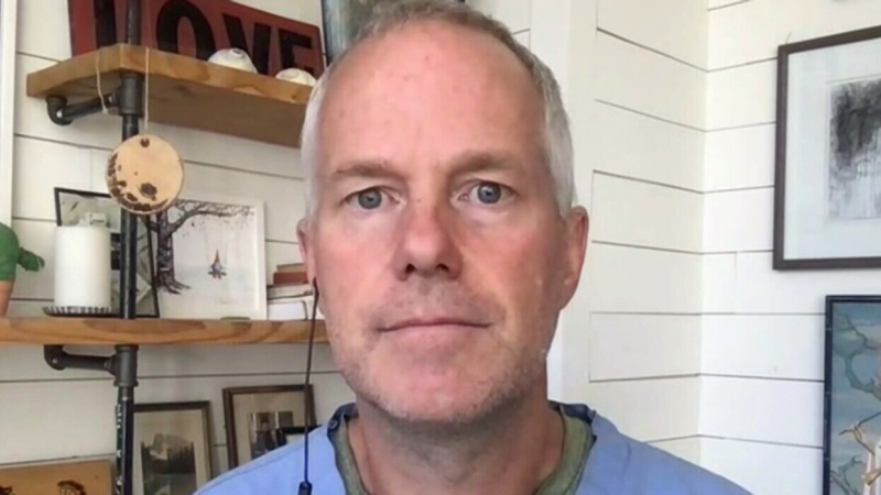 WATCH: Alta. doctor at loss for words on crisis