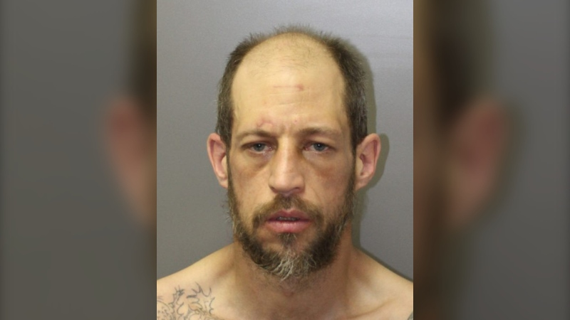 Patrick Robert Kimmel is wanted in connection with a home invasion in Drumheller. (RCMP handout)