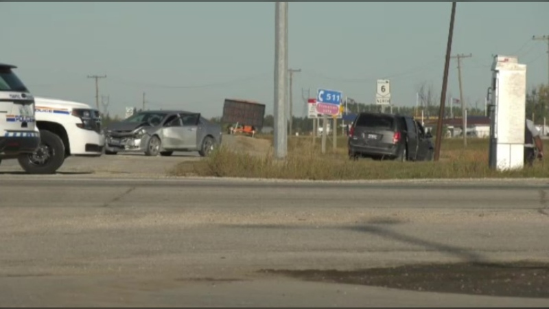 The crash took place at the intersection of Highway 6 and Highway 101.
