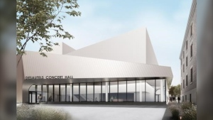A rendering of the Desautels Concert Hall. (Source: Cibinel Architecture)
