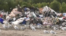 Garbage at Timmins landfill site. Sept. 22/21 (Sergio Arangio/CTV Northern Ontario)