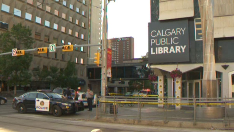 A Calgary man has been convicted of second-degree murder in connection with a fatal stabbing on an LRT platform in 2017. (File)