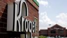 This June 17, 2014, file photo, shows a Kroger store in Houston. (AP Photo/David J. Phillip, File)