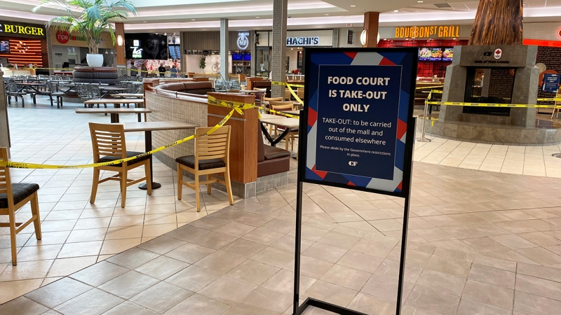 98 Food Co. co-founder Jason Cunningham operates a wide variety of food outlets in Calgary and says it makes no sense for the province to allow customers to dine in at restaurants, while at the same time closing food courts.