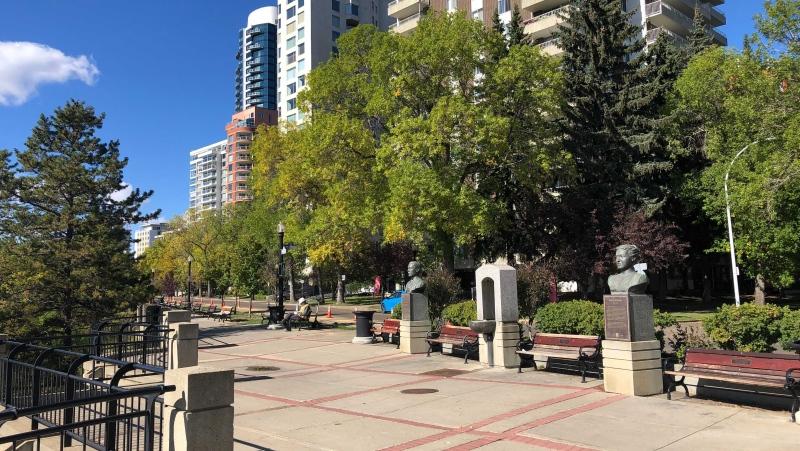 Victoria Promenade (John Hanson/CTV News Edmonton)