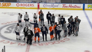 Oilers Training Day
