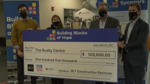 Busby centre receives large financial boost