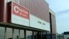 The Center Cinema building in Dawson Creek