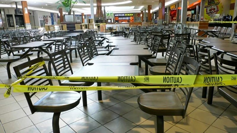 Calgary food court operators say they're being unfairly shut down in the latest round of restrictions
