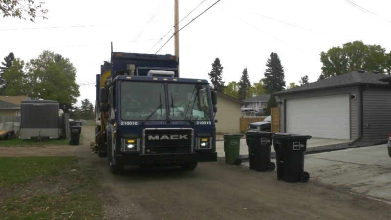Edmonton garbage carts