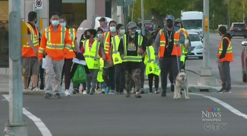 Kids patrol teaches community safety