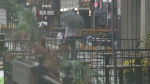 Rain in the ByWard Market on Thursday, Sept. 23, 2021.