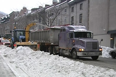 The Plateau-Mont-Royal borough says it has to bring snow clearing costs under control. (CTV File Photo)