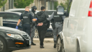 Waterloo Regional Police make an arrest in a multi-city drug bust. (Courtesy: WRPS)