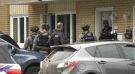 Members of the North Bay tactical team at an apartment. Sept. 24/21 (Eric Taschner/CTV Northern Ontario)