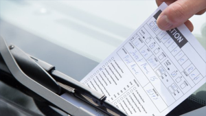 A parking ticket is issued in this FILE IMAGE (OPP_CR)