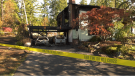 The fire spread from the carport to the home itself: (CTV News)