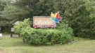 Callander, Ont. welcome sign. Sept. 23/21 (Jaime McKee/CTV Northern Ontario)