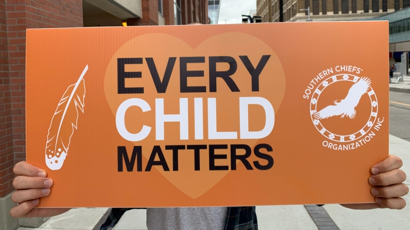 Southern Chiefs' Organization has launched an Orange Heart Awareness campaign, including billboards, bus boards and transit shelters in Winnipeg and Brandon, and billboards in Portage la Prairie, Dauphin, Minnedosa, and Winkler. (Source: CTV News Winnipeg)