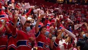 The Bell Centre will operate at 33 per cent of its capacity for the coming season.