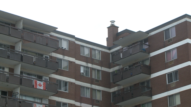 Emergency crews responded to a fire in a third floor apartment at a building on Carling Avenue, in the Lincoln Fields area, just after 10 a.m. Friday, Sept. 24, 2021.