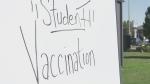 In-school vaccine clinic raises questions