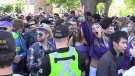 Despite warnings homecoming could draw crowds