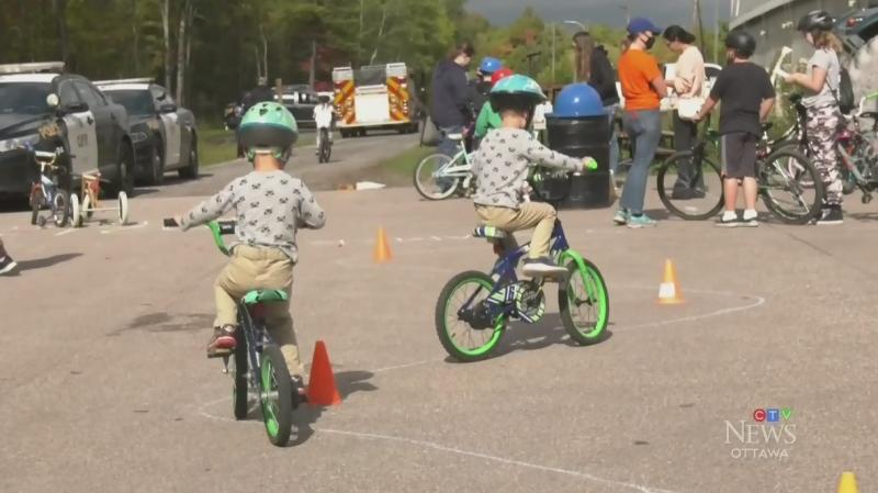Bike rodeo rolls into Renfrew