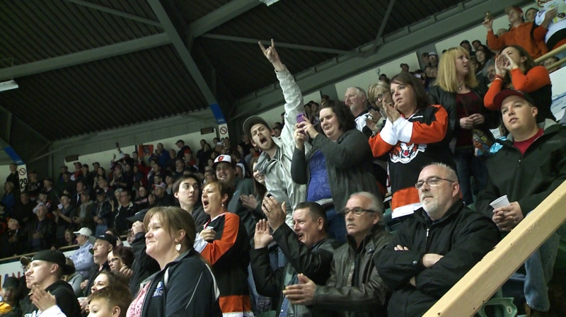 Since the 1970's the old rink has been known as one of, if not the loudest and most energetic rinks in junior hockey.