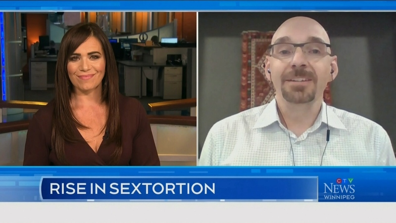 INTERVIEW: A rise in sextortion online
