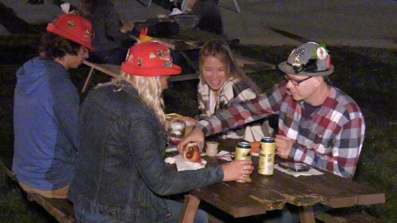 Bingeman's Oktoberfest Biergarten on Sept. 24. (Colton Wiens/CTV Kitchener)