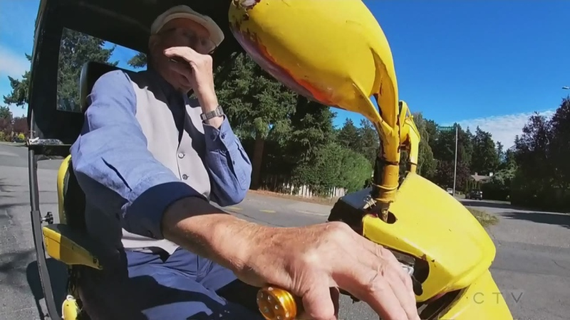 Sawatsky Sign-Off- Joy Ride
