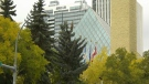 Edmonton city hall, Edmonton fall