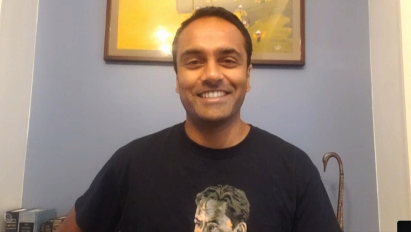 Photo of Praveen Madhiraju, colleague to Michael Kovrig.