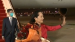 Huawei executive Meng Wanzhou arrived in China on Saturday after more than 1,000 days under house arrest in Canada following a deal with U.S. prosecutors to end a fraud case against her.