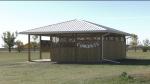 Milestone School's new outdoor classroom. (David Prisciak/CTV News)