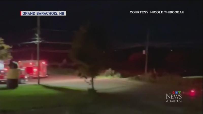 Fire crews called to home in Grand Barachois, N.B.