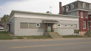 The Douglas Trading Post opens in the former Douglas Tavern in Douglas, Ont. on Saturday. (Dylan Dyson/CTV News Ottawa)