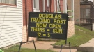 The Douglas Trading Post is now open in the former Douglas Tavern in Douglas, Ont. (Dylan Dyson/CTV News Ottawa)