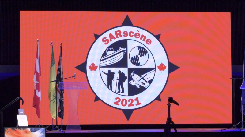 SARscene 2021 search and rescue conference. (Chad Leroux/CTV News)