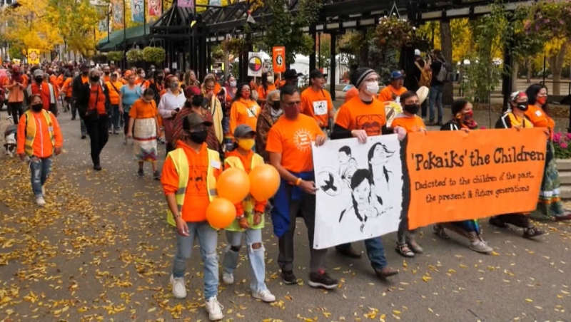 Orange Shirt Day occurs just a few days before Sept. 30, when Canada's first National Day of Truth and Reconciliation will be held.